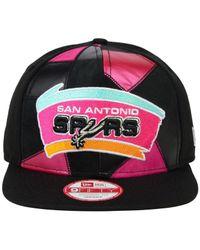 0598f791662 Lyst - KTZ San Antonio Spurs Hwc Cut   Paste 9fifty Snapback Cap in ...