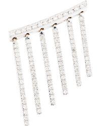 Ileana Makri - Diamond & White Gold Curtain Earring - Lyst