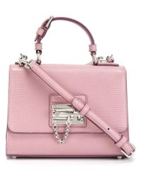 Dolce & Gabbana - Pink Medium 'monica' Satchel - Lyst