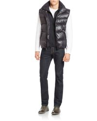 S13/nyc - Black Down-filled Puffer Vest for Men - Lyst
