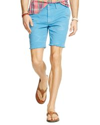 Ralph Lauren - Blue Polo Chino Maritime Shorts - Classic Fit for Men - Lyst