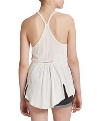 Free People   Natural Sundial Tank Top   Lyst