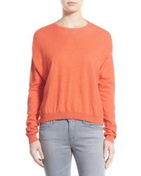 Rebecca Minkoff Orange 'solid Ponder' Sweater