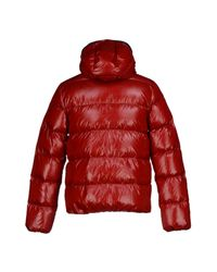Duvetica   Red Down Jacket for Men   Lyst