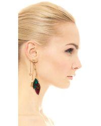 Gas Bijoux - Sioux Earrings - Purple Multi - Lyst