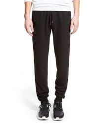 The Rail - Black Knit Jogger Sweatpants for Men - Lyst