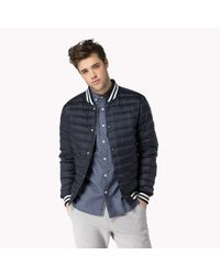 Tommy Hilfiger | Blue Lightweight Down Jacket for Men | Lyst