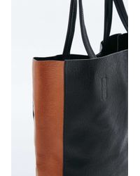 e96c1bfd113b Urban Outfitters Tan And Black Simple Tote Bag in Brown - Lyst