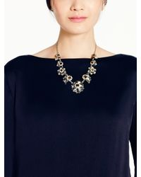 kate spade new york - Multicolor Space Age Floral Necklace - Lyst