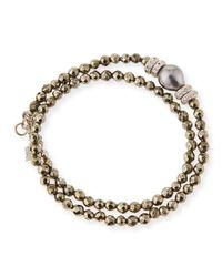 Armenta | Metallic New World Tahitian Pearl & Diamond Wrap Bracelet | Lyst