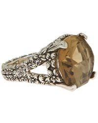 Stephen Dweck - Brown Silver Oak Lemon Citrine Ring - Lyst