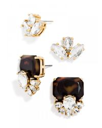 BaubleBar | Metallic Vogue Stud Duo | Lyst