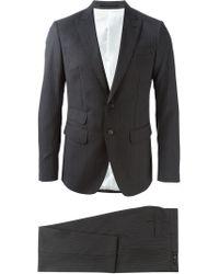 DSquared² - Gray Pinstripe Suit for Men - Lyst