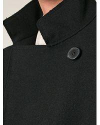 Jil Sander - Black Short Loose Fit Coat - Lyst