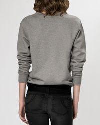 Maje - Gray Sweater - Gareth - Lyst