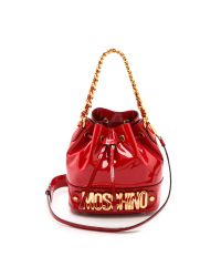Moschino - Bucket Bag - Red - Lyst