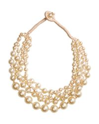 H&M | Natural Multistrand Necklace | Lyst