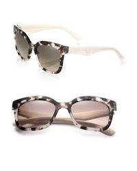 Prada | Natural Oversized Square Sunglasses | Lyst