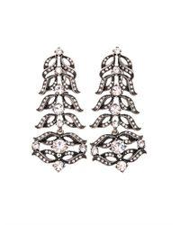 Lulu Frost - Metallic Rococo Statement Drop Earrings - Lyst