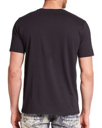 PRPS - Black Piscis Cotton Logo Tee for Men - Lyst
