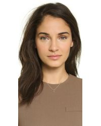 Dogeared - Metallic Wish Necklace - Lyst