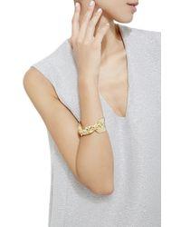Jennifer Fisher - Metallic Gold Medium Bow Cuff - Lyst