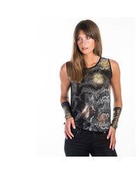 Sophie Darling - Metallic Florence Gold & Grey Cuff - Lyst