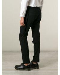 Vivienne Westwood - Black Trim Detail Track Pants for Men - Lyst