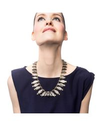 Lulu Frost | Metallic Thicket Necklace | Lyst