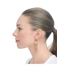 Lulu Frost - Metallic New Coquille Pearl Drop Earring - Lyst