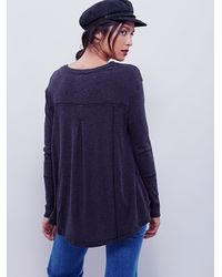 Free People | Gray We The Free East Village Tunic | Lyst