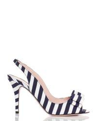 kate spade new york | Blue Celeste Heels | Lyst