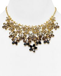kate spade new york - Gray Ombre Bouquet Statement Necklace 18 - Lyst