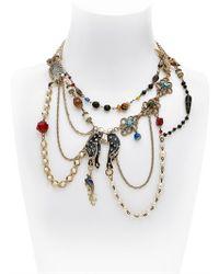 Maria Zureta - Multicolor Animal Cat Necklace - Lyst