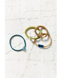 Urban Outfitters | Multicolor Raw Jem Ponytail Holder Set | Lyst
