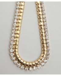 R.j. Graziano   Metallic Soft Palette Collar Necklace   Lyst
