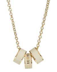 Marc By Marc Jacobs | Metallic Sweetie Rings Gold Tone Necklace | Lyst
