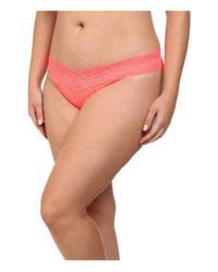 Hanky Panky | Red Plus Size Signature Lace Original Rise Thong 5-pack | Lyst