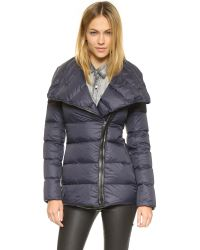 Mackage - Blue Qeren Convertible Down Jacket - Lyst