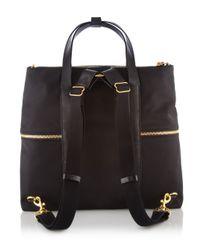 Henri Bendel | Black Jetsetter Convertible Backpack | Lyst