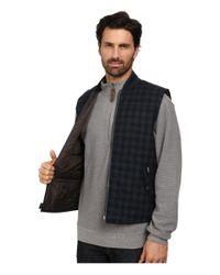 Woolrich - Blue Bear Claw Vest for Men - Lyst