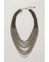 Anthropologie | Metallic Moonstruck Necklace | Lyst