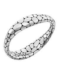 John Hardy - Metallic Kali Sterling Silver Oval Hinge Cuff - Lyst