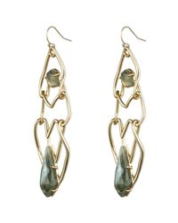 Alexis Bittar - Metallic Kinetic Gold Geometric Link Earring You Might Also Like - Lyst