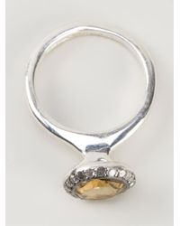 Rosa Maria | Yellow 'beril' Ring | Lyst