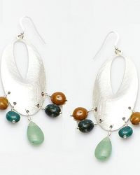 Nakamol | Multicolor Narcissus Earrings-green | Lyst