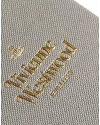 Vivienne Westwood   Metallic Solid Orb Stud Earrings   Lyst