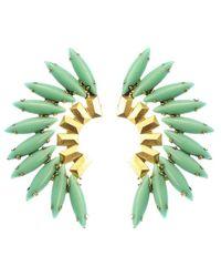 Elizabeth Cole | Blue Tiberia Earrings, Turquoise | Lyst