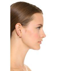 Eddie Borgo - Metallic Stud Earrings - Lyst