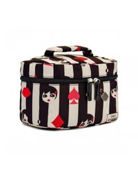 Lulu Guinness - White Doll Face Icon Vanity Case - Lyst